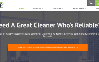 Cleancorp Cleaning Service uses Infusionsoft